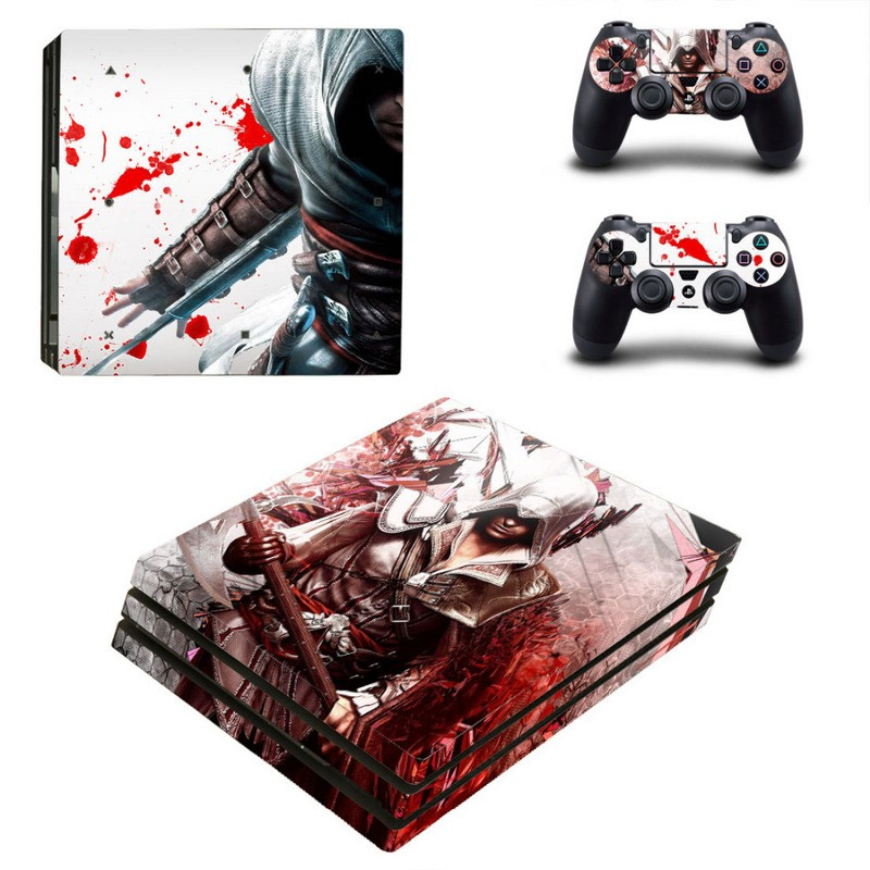 Console stickers Assassins Creed PS4 Pro