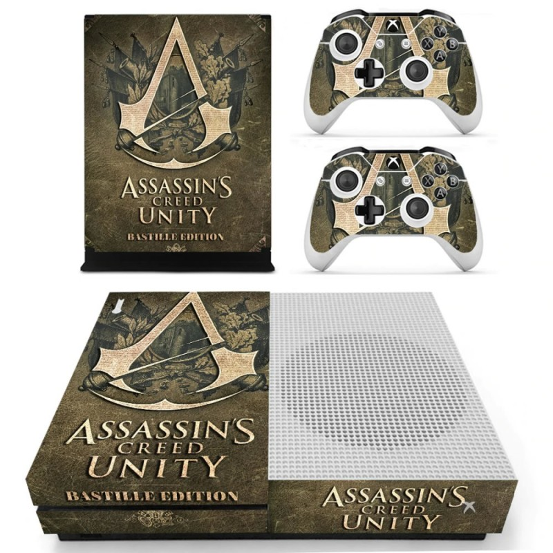 Console stickers Assassins Creed Xbox One S