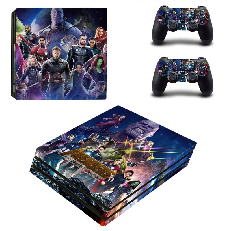 Console stickers Avengers PS4 Pro