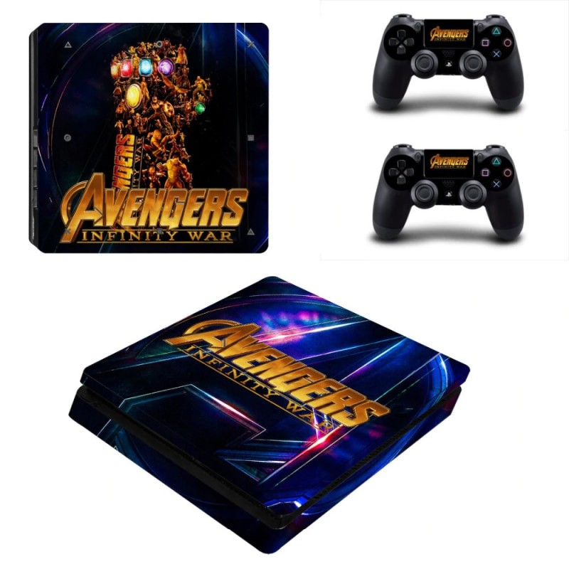 Console stickers Avengers PS4 Slim