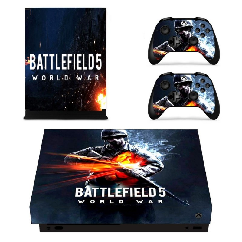 Console stickers Battefield Xbox One X