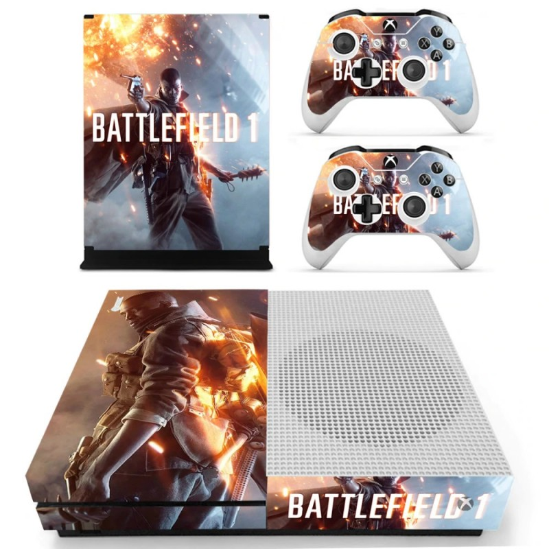 Console stickers Battlefield Xbox One S
