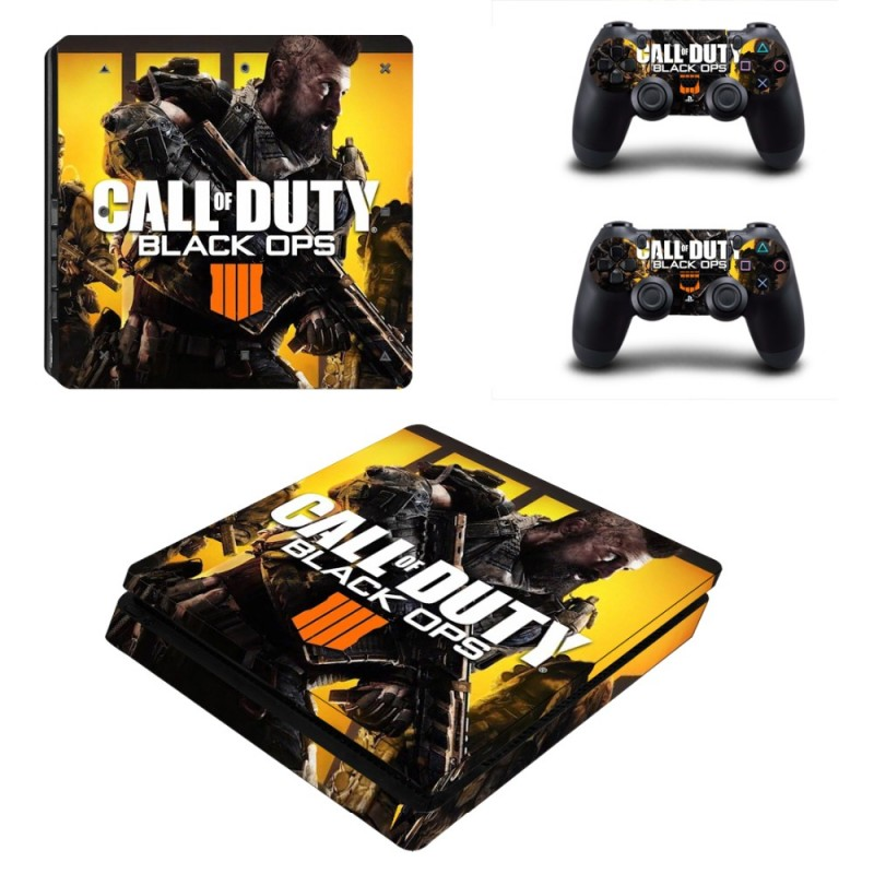 Console stickers Call of Duty PS4 Slim