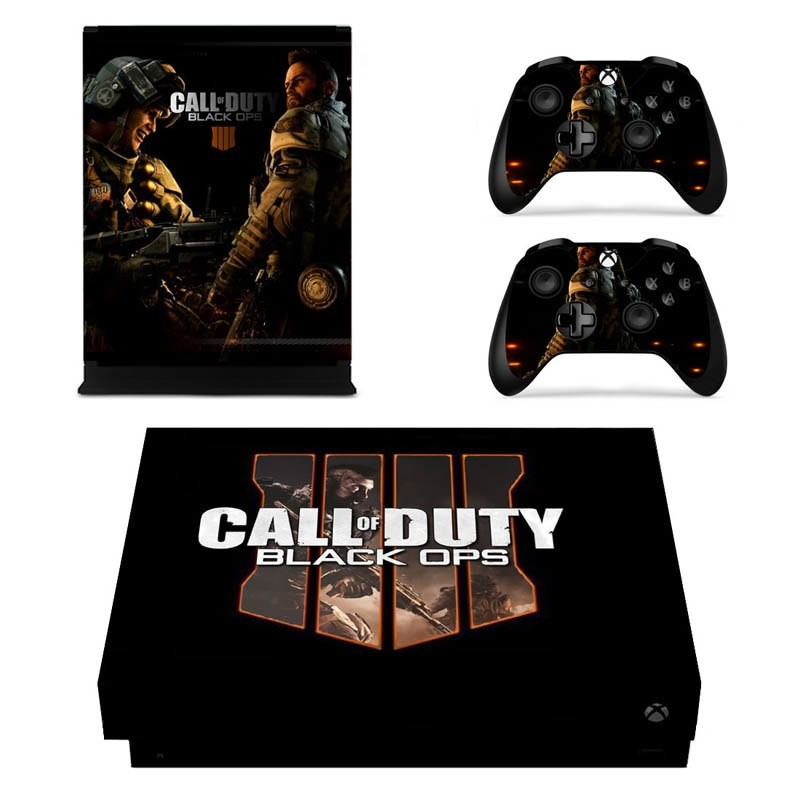 Console stickers Call of Duty Xbox One X