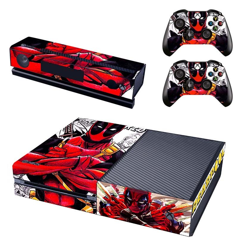 Console stickers Deadpool Xbox One
