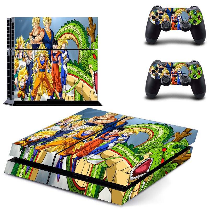 Console stickers Dragon Ball Z PS4