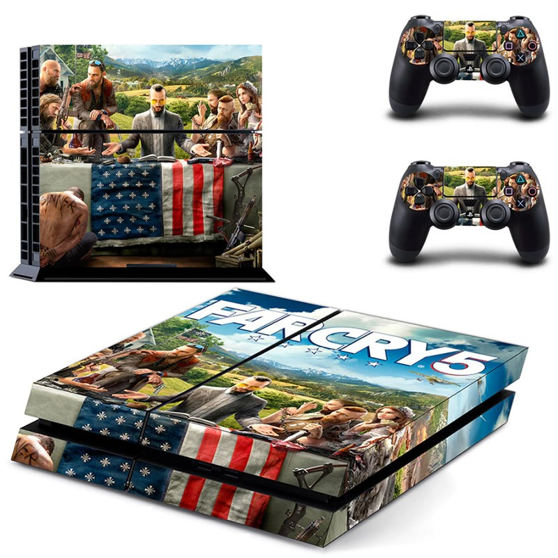 Console stickers Far Cry PS4