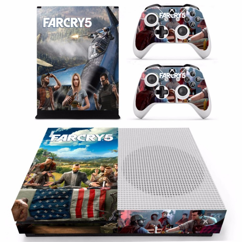 Console stickers Far Cry Xbox One S