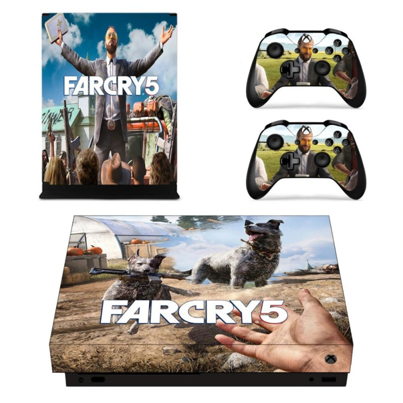 Console stickers Far Cry Xbox One X