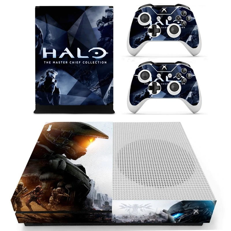 Console stickers Halo Xbox One S