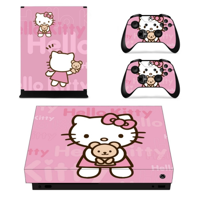 Console stickers Hello Kitty Xbox One X
