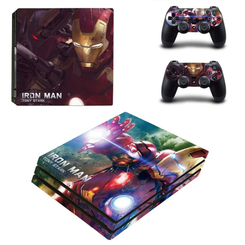Console stickers Iron Man PS4 Pro