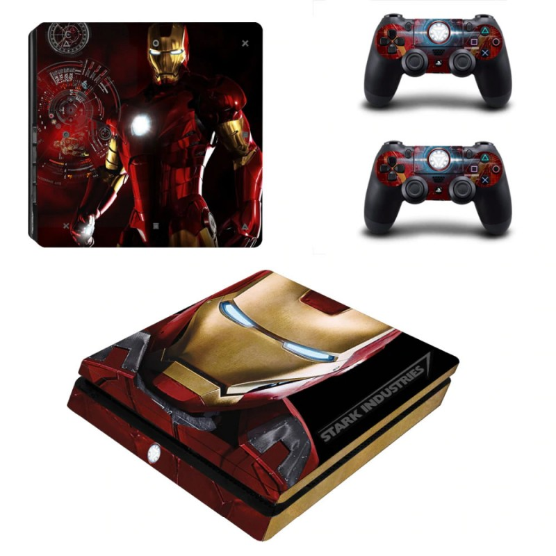 Console stickers Iron Man PS4 Slim