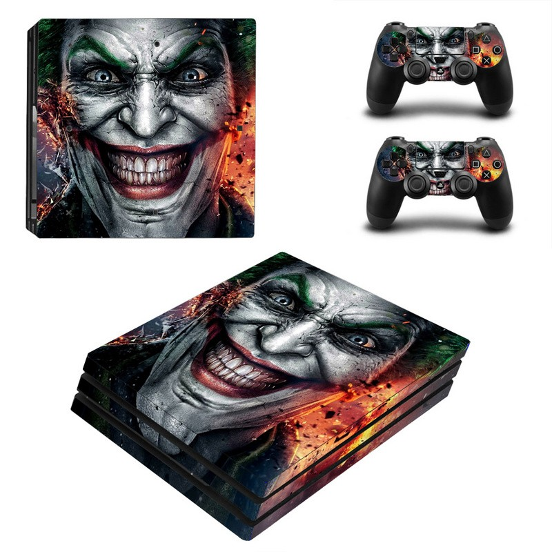 Console stickers Joker PS4 Pro