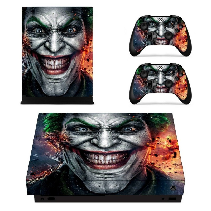 Console stickers Joker Xbox One X