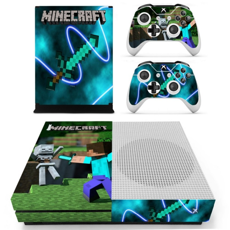 Console stickers Minecraft Xbox One S