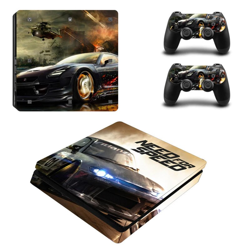 Console stickers Need For Speed PS4 Slim