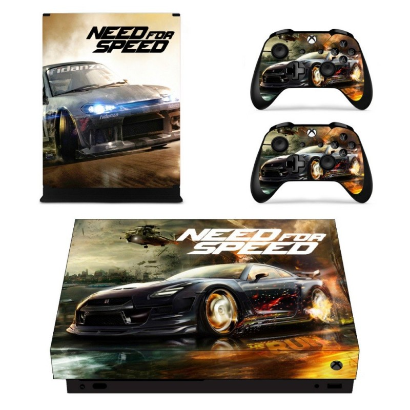 Console stickers Need For Speed Xbox One X