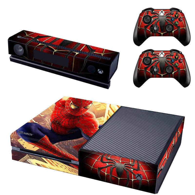 Console stickers Spiderman Xbox One