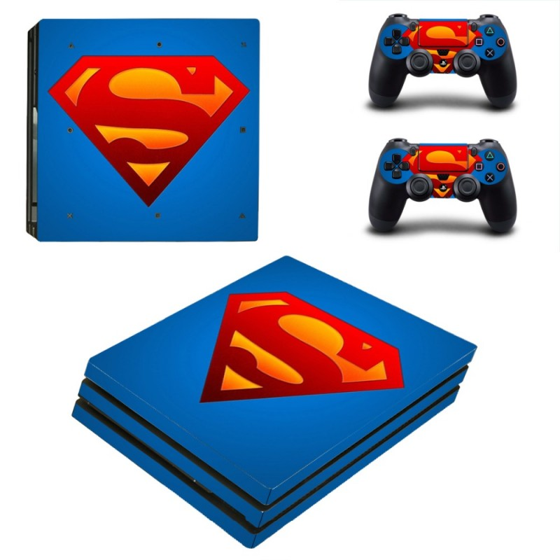 Console stickers Superman PS4 Pro