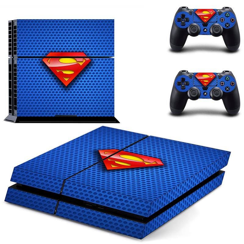 Console stickers Superman PS4