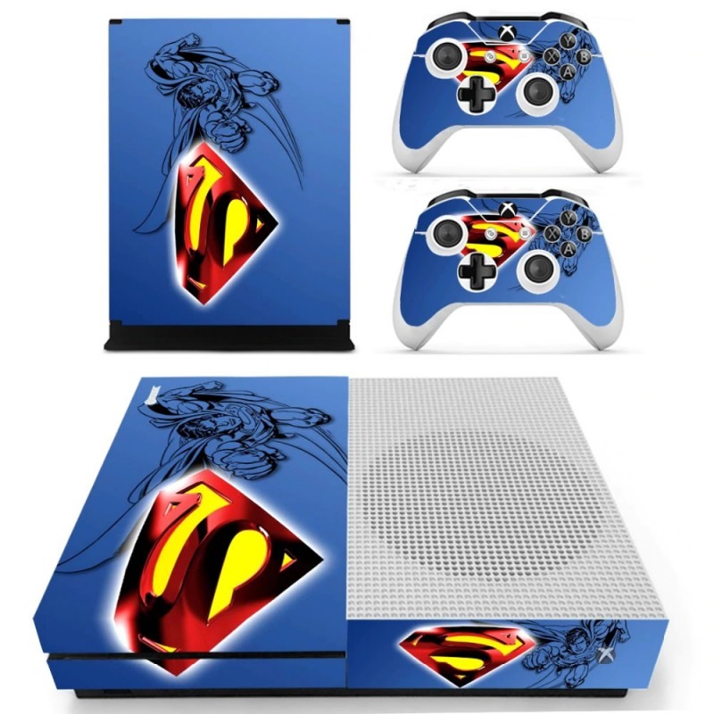 Console stickers Superman Xbox One S
