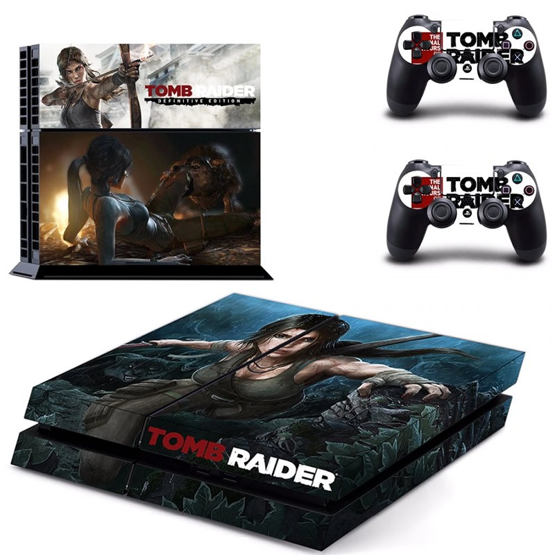 Console stickers Tomb Raider PS4