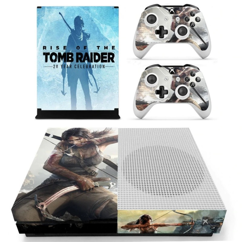 Console stickers Tomb Raider Xbox One S