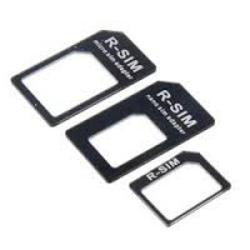 iPhone 5 nano sim-kaart adapter