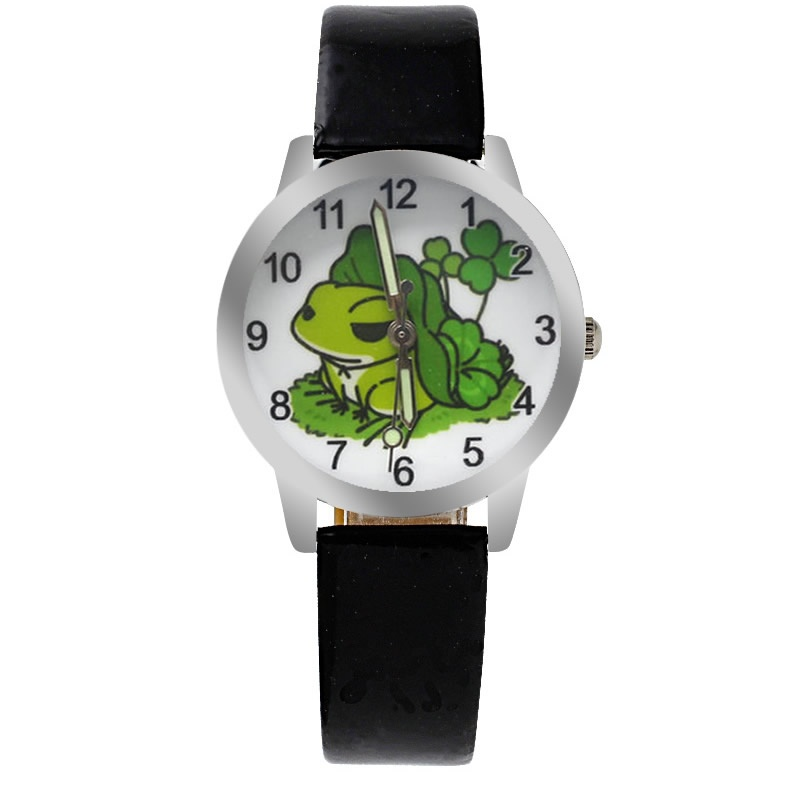 Kikker horloge glow in the dark