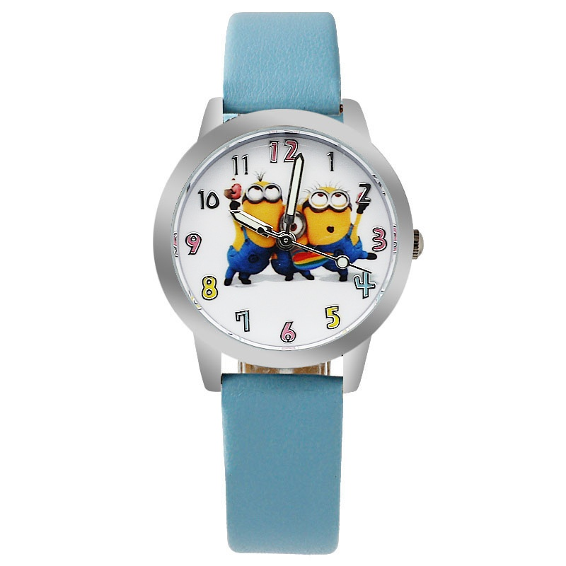 Minions horloge glow in the dark