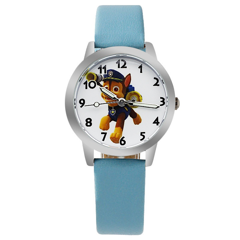 Paw patrol horloge glow in the dark - Chase