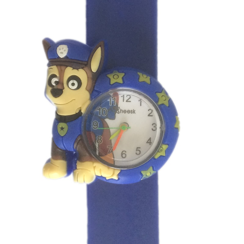Paw patrol horloge slap on - Chase