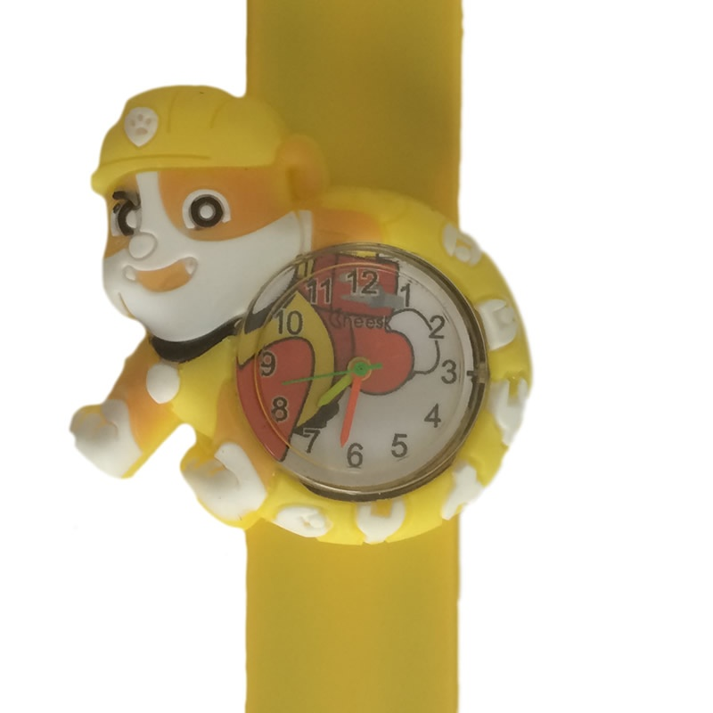 Paw patrol horloge slap on - Rubble