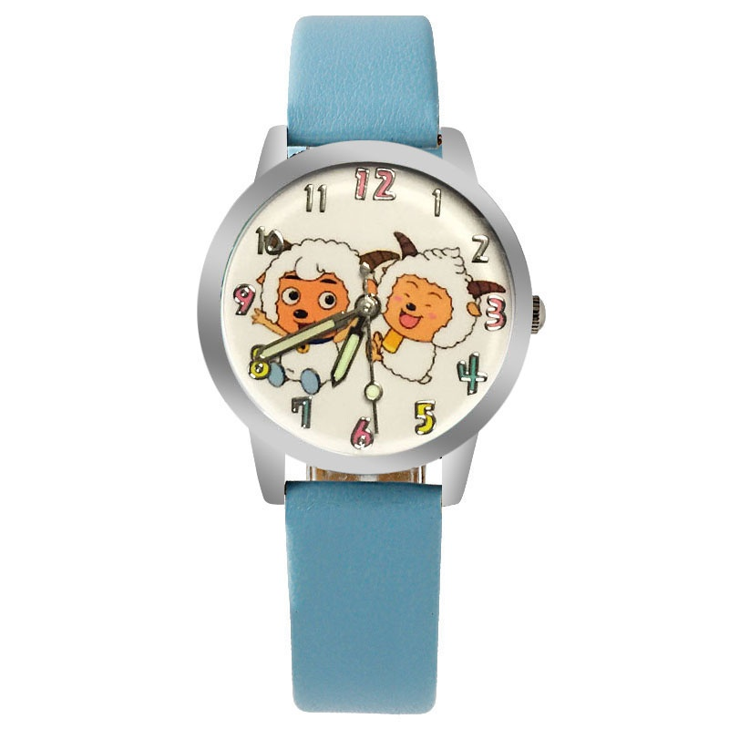 Schaap horloge glow in the dark