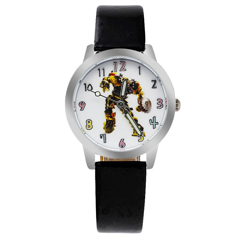 Transformers horloge glow in the dark